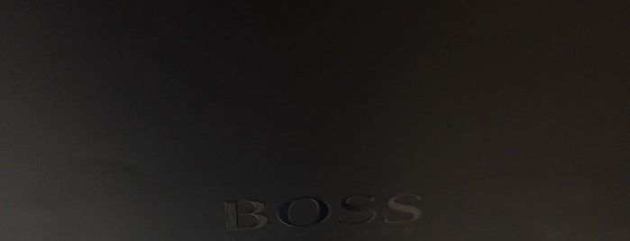 Hugo Boss is one of Tiendas en PLAZA.