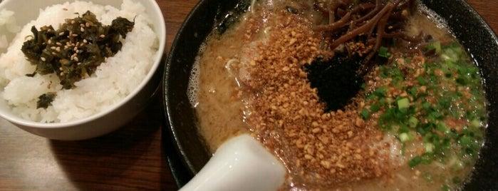 元祖 麺屋原宿 名古屋金山店 is one of ラーメン同好会・名古屋支部.