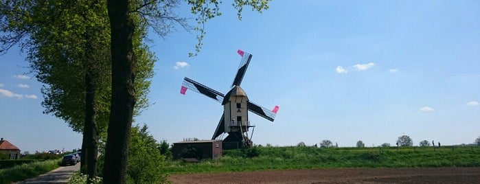 Molen van Batenburg is one of Dutch Mills - North 1/2.