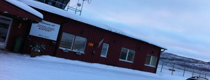 Hemavan Tärnaby Airport (HMV) is one of Airports - Sweden.