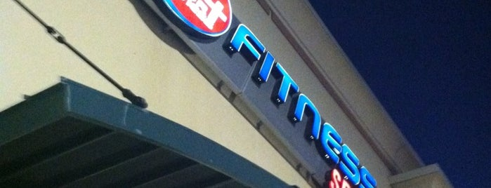 24 Hour Fitness is one of favs.