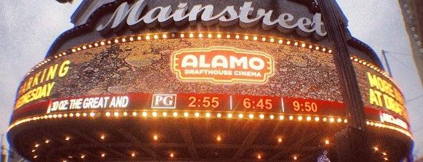 Alamo Drafthouse Mainstreet is one of Hook 'Em Horns- Austin.