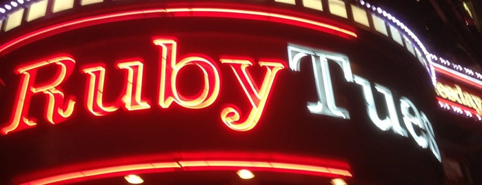 Ruby Tuesday is one of Must-visit Food Around Forty Duece.