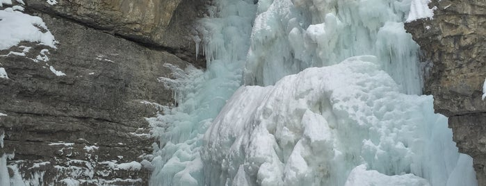 Upper Fall Of Johnston Canyon is one of Canada Favorites.