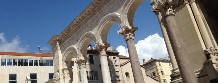 Dioklecijanova palača | Diocletian's Palace is one of Croacia.