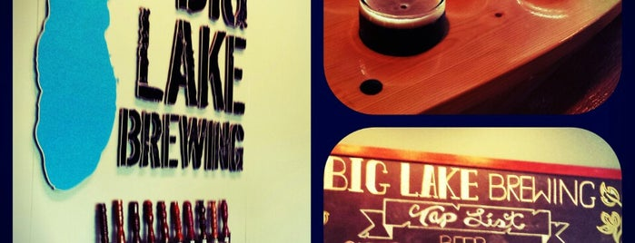 Big Lake Brewing is one of Michigan Breweries.