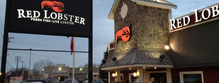 Red Lobster is one of Restaurants.