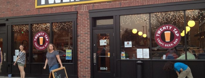 Twenty Tap is one of Places to eat in INDY.