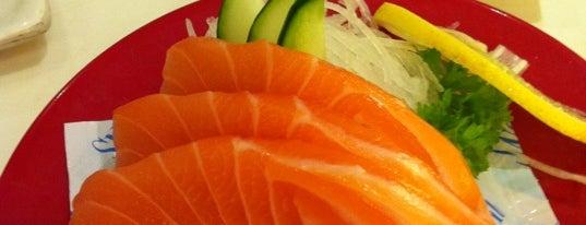 Sakae Sushi is one of 10 favorite restaurants ;p.