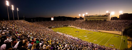 Vanderbilt Stadium - Dudley Field is one of Reunion / Homecoming Weekend 2011.