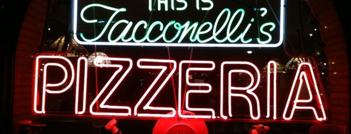 The Original Tacconelli's Pizzeria is one of Best Pizza Places in the U.S. (Food and Wine).