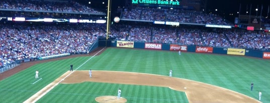 Citizens Bank Park is one of Sport Staduim.