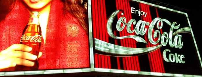 The Coca-Cola Billboard is one of Essential Sydney.