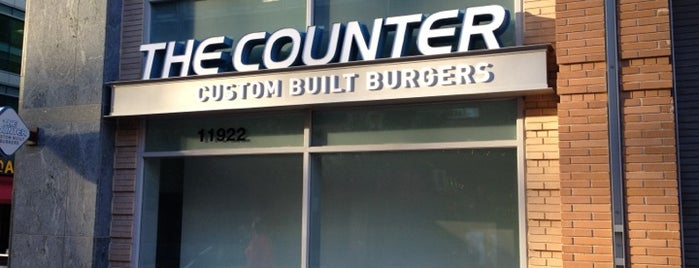 The Counter is one of DC Burgers.