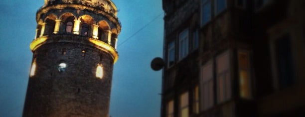 Galata Tower is one of Istanbul.