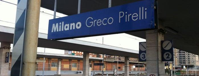 Stazione Milano Greco Pirelli is one of Linee S e Passante Ferroviario di Milano.