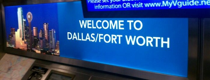 Dallas Fort Worth International Airport (DFW) is one of Airports in US, Canada, Mexico and South America.