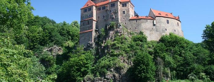 Burg Kriebstein is one of Burgen und Schlösser.