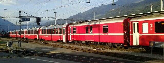 Bahnhof Landquart is one of Bahnhöfe Top 200 Schweiz.