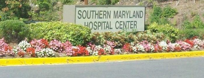 MedStar Southern Maryland Hospital Center is one of hospitals.