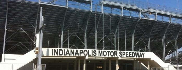 Indianapolis Motor Speedway is one of Indiana's National Historic Landmarks.