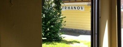 Železniční zastávka Trhanov is one of Železniční stanice ČR: Š-U (12/14).