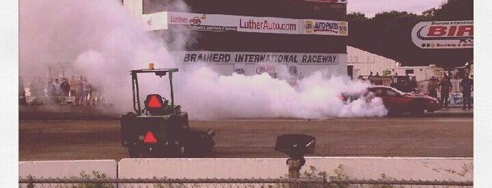 Brainerd International Raceway is one of Racetracks.