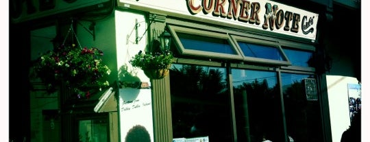 The Corner Note Cafe is one of Dublin.