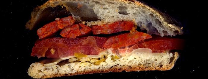 "Despaña is one of ""Dream Sandwiches"" List."