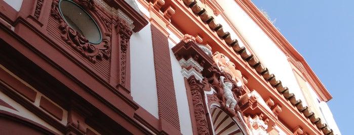 Hospital de los Venerables - Centro Velázquez is one of 11 edificios religiosos de interés turístico.