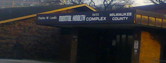 Milwaukee County Mental Health Complex is one of Milwaukee Area Healthcare.