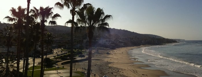 Laguna Beach Boardwalk is one of Beach Bouncing in So Cal.