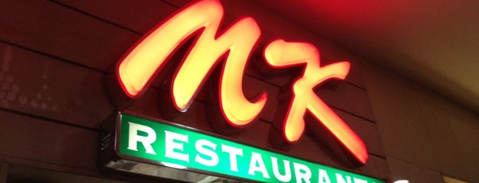 MK (เอ็มเค) is one of Favorite Food.