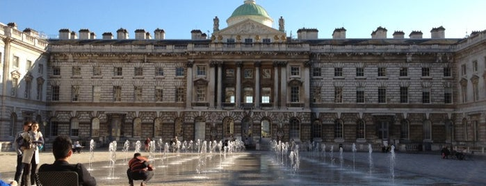 Somerset House is one of London as a local.