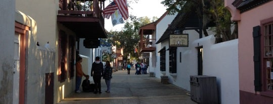 St George Street is one of Guide to St Augustine's best spots.