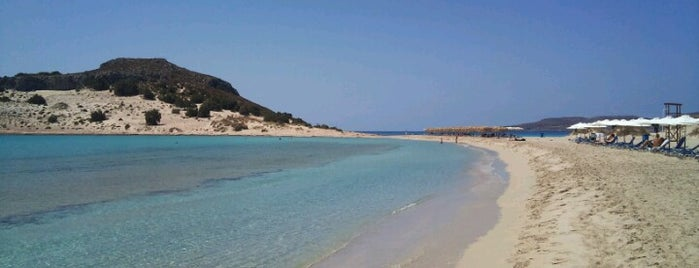 Simos Small Beach is one of Must-visit Beaches in Laconia.