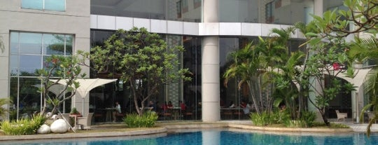 Hotel Santika Premiere Jakarta is one of The Travellers.