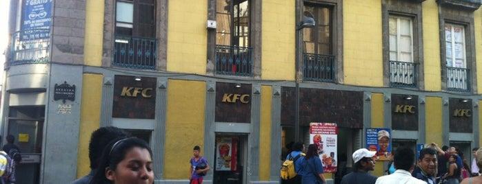 Kentucky Fried Chicken KFC is one of O que Fazer na Cd. do México.