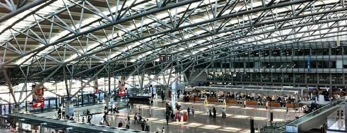 Hamburg Airport (HAM) is one of Airports.