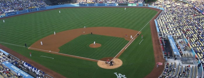 Dodger Stadium is one of Olly Checks In Los Angeles.