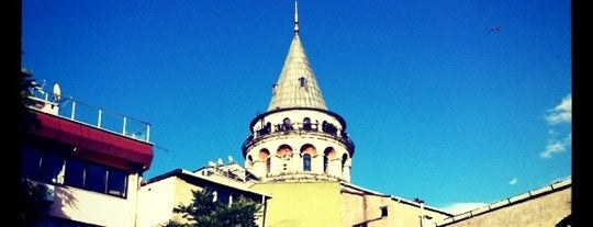 Galata Kulesi is one of Restorant.
