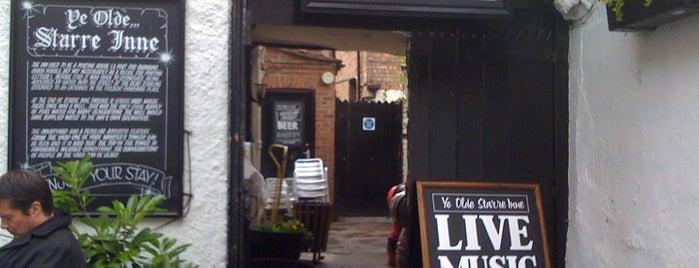 Ye Olde Starre Inne is one of York's Best Drinking Holes.