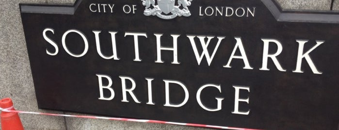 Southwark Bridge is one of Must-visit Great Outdoors in London.
