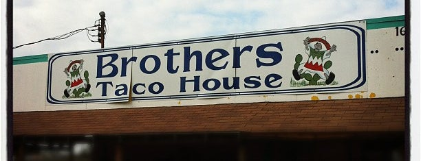 Brothers Tacos is one of Houston Press 2012 - 100 Favorite Dishes.