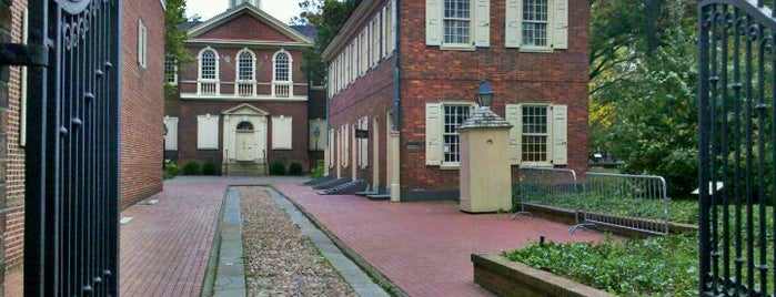 Carpenters' Hall is one of Want to visit.