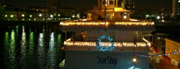 Yacht StarShip Dining Cruises is one of Restaurants.