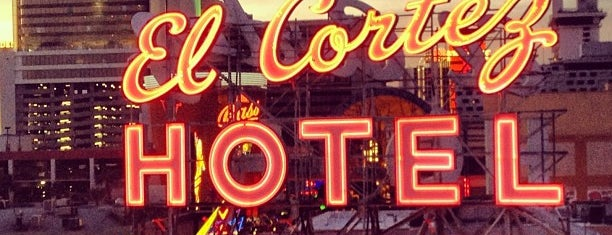 El Cortez Hotel & Casino is one of Downtown Vegas Dimes.