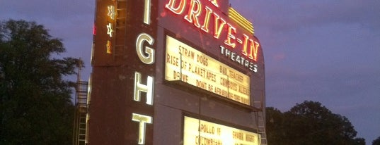 Starlight Six Drive-In is one of Atlanta City Badge - ATL.