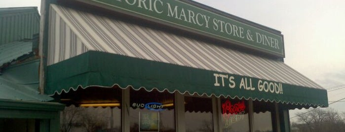 Marcy's Diner is one of Gary's List.
