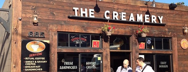 The Creamery is one of Awesome places to eat world wide.